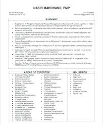 Resume Example Project Manager Application Development Manager