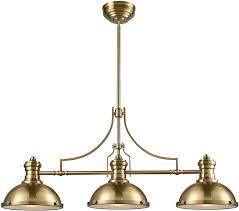 elk 66595 3 chadwick satin brass island lighting loading zoom