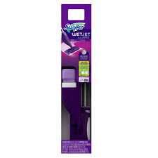 swiffer wetjet hardwood floor spray mop
