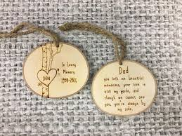 in loving memory of dad memorial ornament sympathy gift father in remembrance gift memorial gift idea in loving memory of ornament personalized