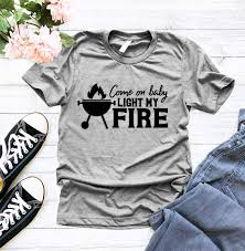 The Doors Come On Baby Light My Fire Amazon Com Come On Baby Light My Fire T Shirt American