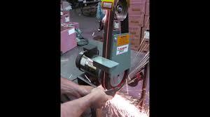 kalamazoo belt grinder. kalamazoo industries bg248 2\ belt grinder