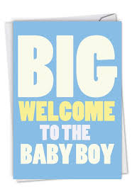Congratulations For A Baby Boy New Baby Boy Card