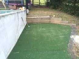 backyard putting green diy putting green diy backyard synthetic putting green