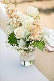 Mason Jar Wedding Centerpieces. mason jar flowers with lace