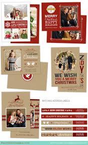 Holiday Card Photoshop Templates For Photographers Christmas Card