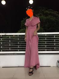 Light Old Rose Dress Light Old Rose Infinity Dress On Carousell