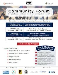 flyers forum face community forum immigration learning sessions jonas salk es