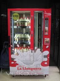 Fresh Milk Vending Machine Mesmerizing La Llonguera Fresh Milk Vending Machines Pinterest Fresh