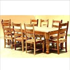 outdoor dining sets for 8. Dining Sets For 8 Wood Table Set Rustic Room Tables Sale Brown Round . Outdoor