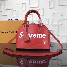 3a lv leather red louis vuitton handbag alma supreme bb shoulder bag m40301 epi