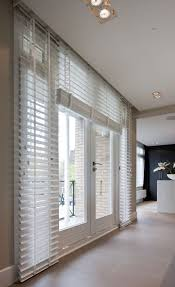 white wooden blind adds beauty to home with discovering privacy