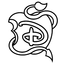The Descendants Disney Mini Logo Coloriage The Descendants
