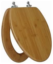 dark brown toilet seat. nature bamboo dark wood grain elongated regular close chrome hinge toilet seat transitional-toilet- brown