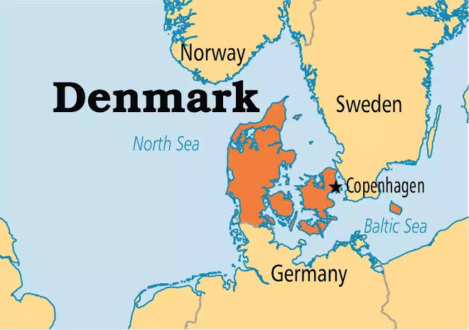 Image result for map of denmark and sweden