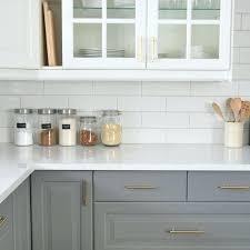 grey subway tile backsplash ideas kitchen glass white and with grout