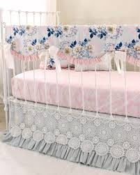 ethereal lullaby rail cover perless baby bedding gray