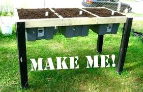 how to build a raised garden bed with legs. How To Build Raised Gardening Beds Make Diy Garden On Legs A Bed With
