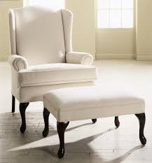 Leather Accent Chair With Ottoman Furniture Charming White Brightly Colored Accent Chair With