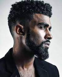 how to get curly hair black male