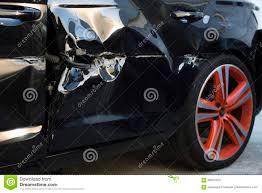 broken black car door stock photo image of crash door 86561520