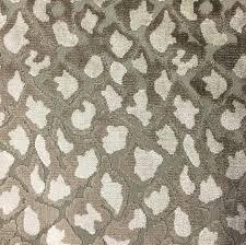 Leopard Pattern Unique Hendrix Leopard Pattern Cut Velvet Upholstery Fabric By The Yard
