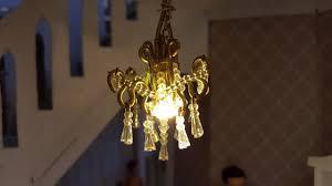 diy miniature dollhouse chandelier