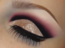 glitter eye makeup tutorial dramatic