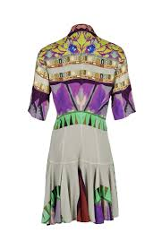 Платье-<b>рубашка с принтом</b>