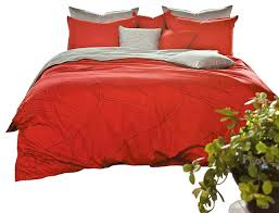 modern red and gray duvet cover set queen duvet covers and duvet