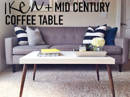 mid century modern chairs ikea. diy ikea hack mid-century modern coffee table on this blonde bee mid century chairs ikea r
