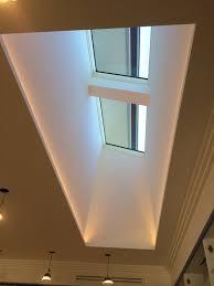 skylight lighting. Apartments Skylight And Light Well Led Strips Hidden Along The Two Long Bulb Camera Edges Looks Lighting U