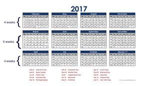 Calendar Year Quarters Why Use A Retail Calendar The Data Point