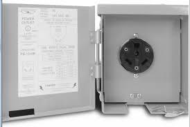 30 amp rv outlet connecticut electric ps 13 hr 30 amp 120 volt exterior rv power outlet