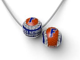 florida gators baseball national chionship enameled cz baseball with snake chain brittany s fine jewelry gainesville fl