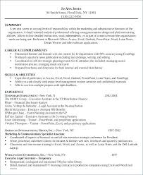 Executive Assistant Resume Cover Letter Legal Assistant Resume