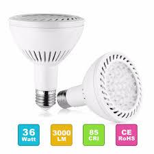 Par30 Warm White Led Flood Light Par30 Led Flood Light Bulb 350w Replacement 36w E27 Medium