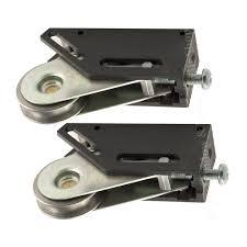 pair of schlegel multi fit stainless steel sliding door patio roller wheels 32mm