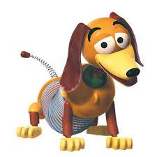 slinky dog. disney toy story slinky dog toy. k