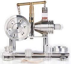 Sunnytech® Hot Air <b>Stirling Engine Model</b> Educational Toy Sc02 ...