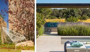 Garden Design Minimalism And Pure Mediterranean Essence Simple Mediterranean Garden Design Image