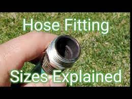 size of a standard garden hose fitting
