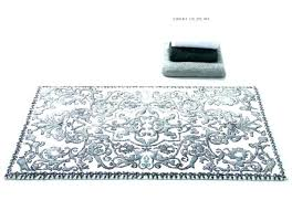 gray white rug target grey bathroom rugs bath remarkable furniture delightful silver pattern ideas black and