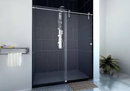 semi frameless sliding shower doors. frameless sliding glass shower doors models home ideas image of semi
