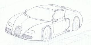 Bugatti Veyron sketch by JetStreamline on DeviantArt