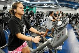 the marine base s semper fit gym has been a daily stop for the vacationing barack obama bridget schowalter a military dependent was among those working
