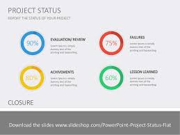 Project Status Reporting Project Status Flat