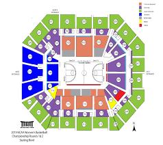 Ncaa Basketball Tournament Seating Chart Ncaa Womens Basketball Tournament Ticket Information