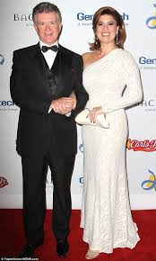 alan thicke wife. Beautiful Alan On The Red Carpet Alan Thicke And Wife Tanya Callau Attend A Gala In Santa With Wife T