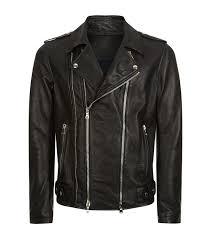 balmain men balmain double zip leather jacket black balmain jackets